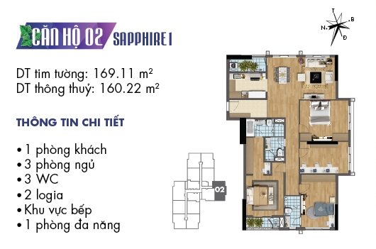 thiet ke noi that can ho 02 sapphire 1 goldmark city (11)