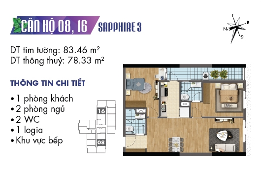thiet ke noi that chung cu goldmark city toa sapphire 3 can 08 1