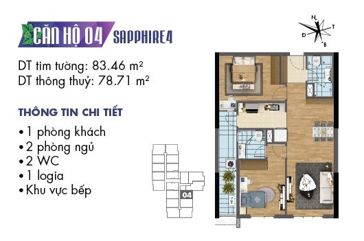 thiet ke noi that chung cu goldmark city toa sapphire 4 can 04 1