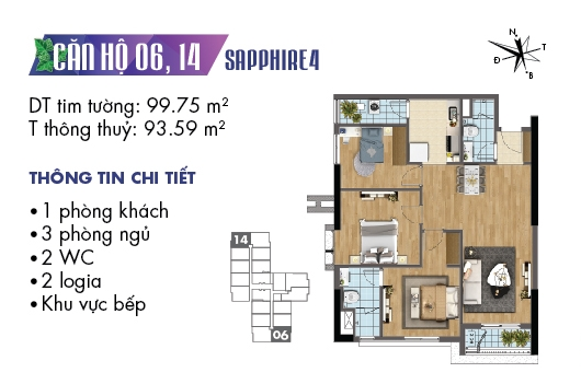 thiet ke noi that chung cu goldmark city toa sapphire 4 can 06 1