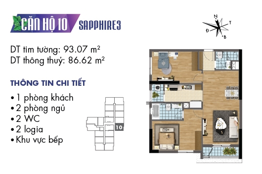 thiet ke noi that chung cu goldmark city toa sapphire 3 can 10 1